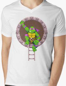 Don hanging out Mens V-Neck T-Shirt