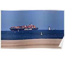Maritime Shipping Poster