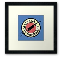Alliance Normandy Framed Print