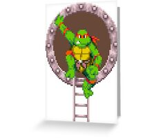 Raph hanging out Greeting Card