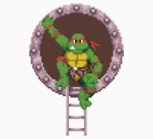 Raph hanging out One Piece - Short Sleeve