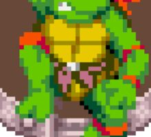 Raph hanging out Sticker