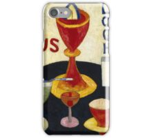 Marsden Hartley - Handsome Drinks 1916. Abstract painting: abstract art, geometric, expressionism, composition, lines, forms, creative fusion, spot, shape, illusion, fantasy future iPhone Case/Skin