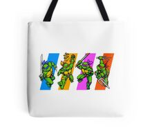 TMNT Turtles in Time Characters Tote Bag