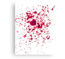 #LOVEHURTS (Zombies) Canvas Print