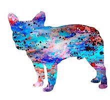 French Bulldog by Watercolorsart