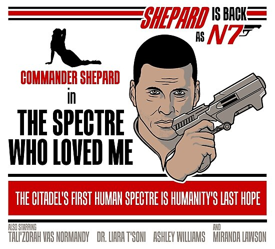The Spectre Who Loved Me by Adho1982