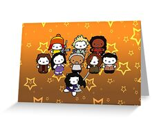 Hello Firefly Greeting Card