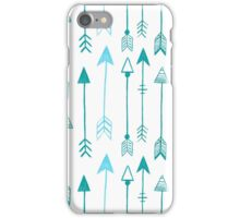 ARROWS BLUE iPhone Case/Skin