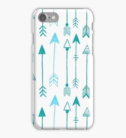 ARROWS BLUE iPhone Case/Skin