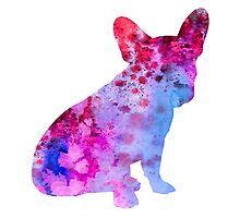French Bulldog 3 by Watercolorsart