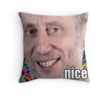 Michael Rosen - NICE Throw Pillow