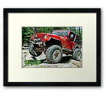 Twisted Fireball 4520 Framed Print