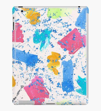 Colour Splash Brush Strokes iPad Case/Skin