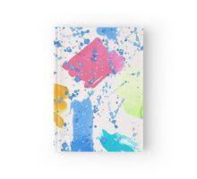Colour Splash Brush Strokes Hardcover Journal