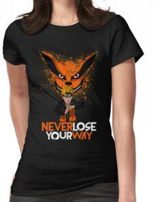 NARUTO x KURAMA Womens Fitted T-Shirt