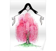 The Willow Tree of Kyoto Poster