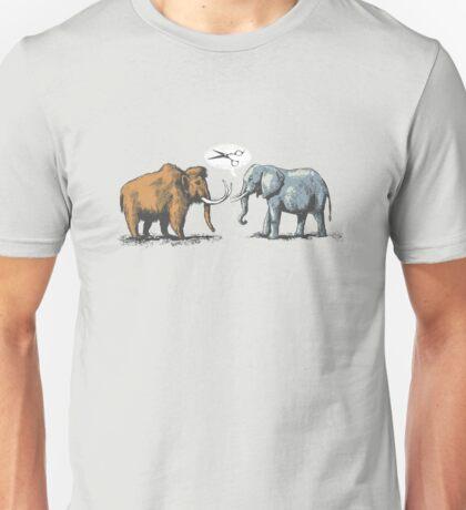 Mammoth and Elephant Unisex T-Shirt
