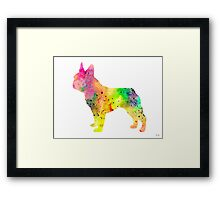 French Bulldog 6 Framed Print