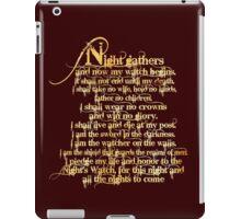 'Night Gathers...' iPad Case/Skin