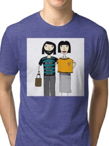 Couple Tri-blend T-Shirt