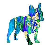 French Bulldog 7 by Watercolorsart