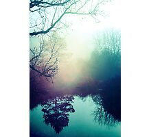 Autumn Fog  Photographic Print