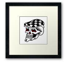 Bostonian Working-class Skull Framed Print