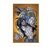 Salty Roo vs. Lobo Art Print
