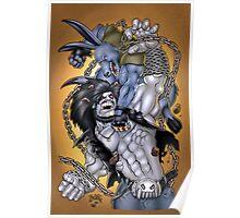Salty Roo vs. Lobo Poster