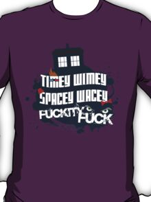 Doctor Who Catchphrases T-Shirt