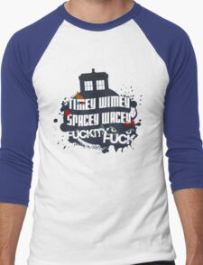 Doctor Who Catchphrases Men's Baseball ¾ T-Shirt