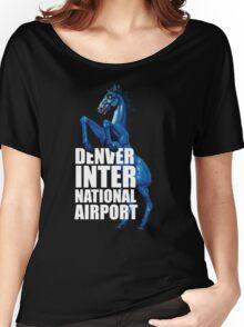 Denver International Airport Women's Relaxed Fit T-Shirt