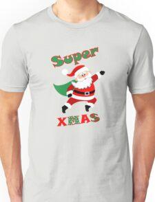 Super Santa , Santa Super Xmas,  Santa Superhero. Unisex T-Shirt