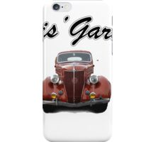 Chris' Garage iPhone Case/Skin