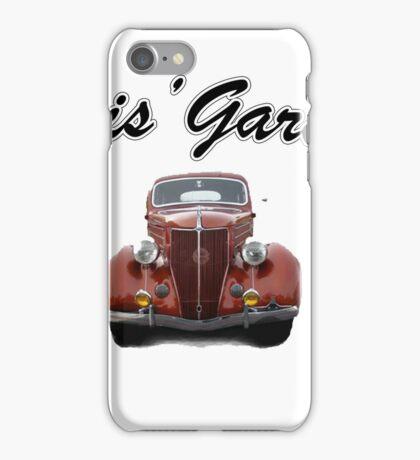 Chris' Garage iPhone Case/Skin