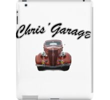Chris' Garage iPad Case/Skin
