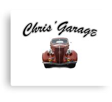 Chris' Garage Canvas Print