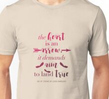 The Heart Is An Arrow - Six of Crows by Leigh Bardugo (A) Unisex T-Shirt