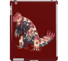 Only Primal Groudon (Pokemon Omega Ruby)  iPad Case/Skin
