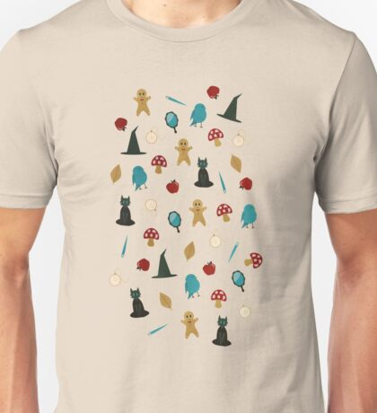 Fairytale Pattern Unisex T-Shirt
