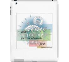 Quotes- da Vinci iPad Case/Skin