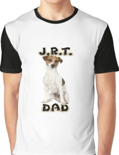 Jack Russell Terrier Dad Father Graphic T-Shirt