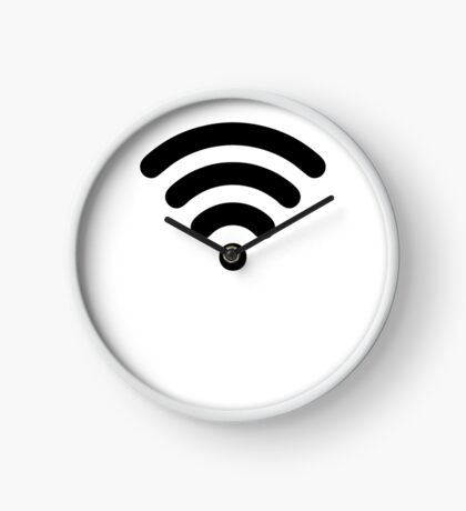 Wi-Fi Abstract Clock