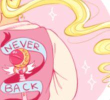 NEVER BACK DOWN Sticker