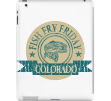 COLORADO FISH FRY iPad Case/Skin