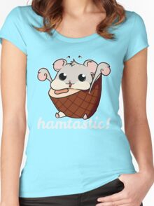 Hamtastic! Women's Fitted Scoop T-Shirt