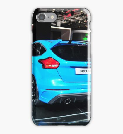 Ford Focus RS - Frankfurt Motorshow IAA iPhone Case/Skin
