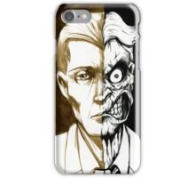 Two-Face iPhone Case/Skin