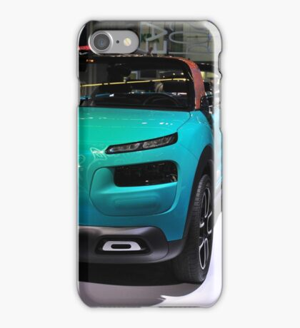 Citroen C4 Cactus Convertible - Frankfurt IAA iPhone Case/Skin